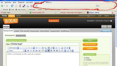 Firefox bug?