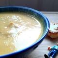 Currys és kókuszos sültkarfiol krémleves