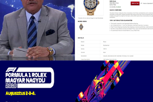 Samuel Herd Wezető indul a Rolex Magyar Nagydíjjon!
