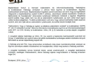 """Vizsgálat indult Jehova Tanúi ellen az """"adatvédelmi nyilatkozat""""uk miatt"""