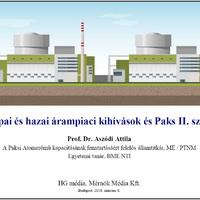 Európai és hazai árampiaci kihívások és Paks II. szerepe