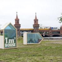 Ex-menekült tervezte a világ legkisebb házát (1 m2)