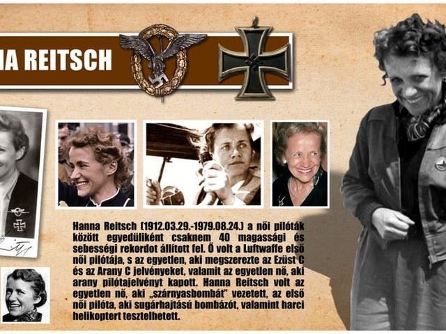 Hanna Reitsch, Hitler legkedvesebb pilótanője
