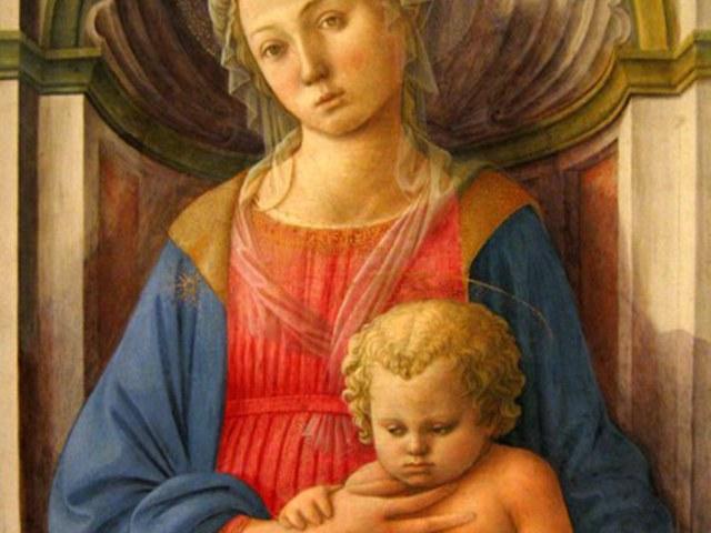 Madonna és a gyermek