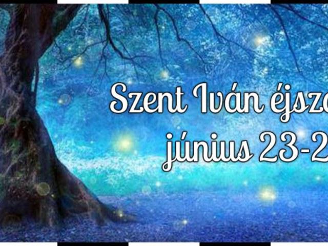 Szent Iván éj