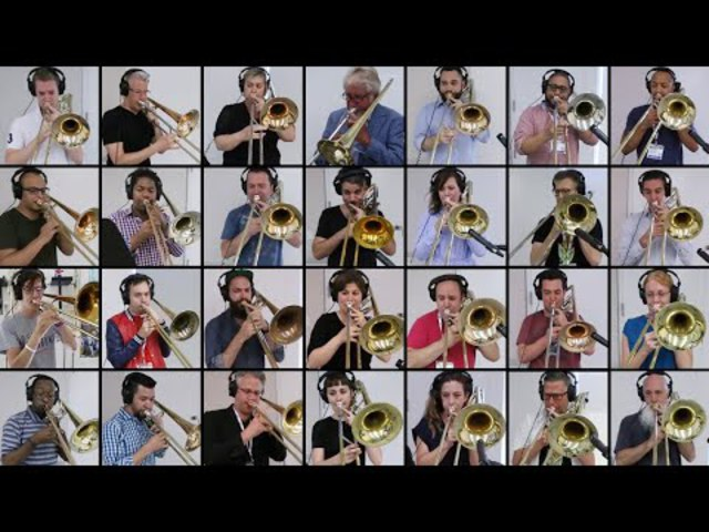 """Bonehemian Rhapsody"" 28-Trombone Collaboration! (from ITF 2018!)"