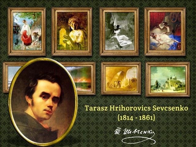 Tarasz Sevcsenko az ukránok Petőfije
