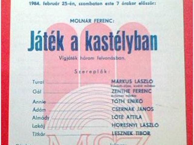 Amikor volt még Színház Magyarországon