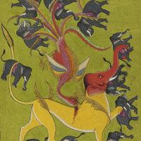 A Rák és az Oroszlán indiai ábrázolása - ISE asztrológiai program