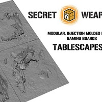 Secret Weapon Miniatures - Megérkezett a Tablescapes!
