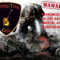 HammerTime Cafe - Új wargame/szerepjáték/társasjáték bolt, klub, kávézó + Nyitóbuli!
