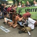 Nemlétező veszély miatt akart tüntetőket oszlatni a rendőrség