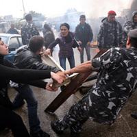 Börtönlázadás Libanonban