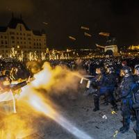 Sérti az emberi méltóságot, ha a rendőrök figyelmeztetés nélkül alkalmaznak könnygázt egy tüntetésen