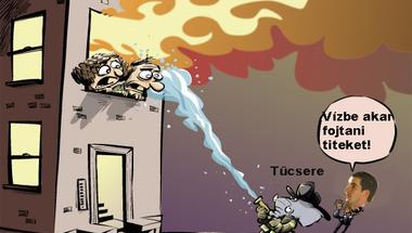 Amikor a tűzért is a tűzoltót hibáztatják