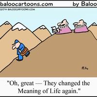 Mi a nehéz az élet értelmében?