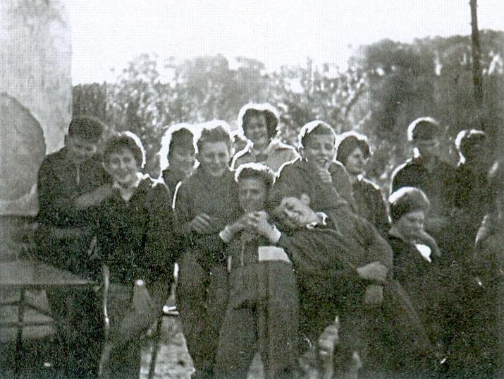 Osztálykirándulás 1962