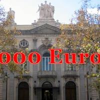 Háromezer eurót buktak a spanyol korrupciókutatók