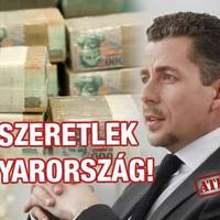 Szeptemberben 1 milliárdból fogja szeretni a nép Magyarországot