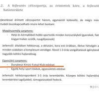 Dunakeszi titkolni próbálta a Szijjártó futsal-egyesületének tervezett sportkomplexumot