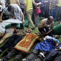 Egyiptom: négy óra ölés