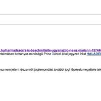 Minisztériumi email-címéről fenyeget jogi lépésekkel a plágiumgyanús pályázó