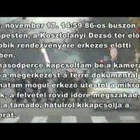 Megtámadták Csillag Ádámot a Jobbik-rendezvény előtt