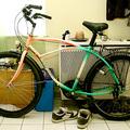 Megérkezett az új bicikli