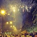 Tűzijáték este (2011.09.11 - Szombathely)