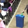 Öko flash mob - újrahasznosítás