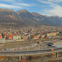 Panorámaképek Innsbruckról