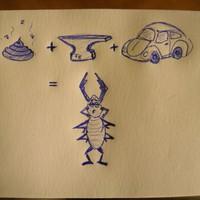 Szarvasbogár - Shit-Iron-Beetle