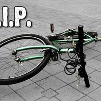Sándorlopás - eltekertek a biciklimmel
