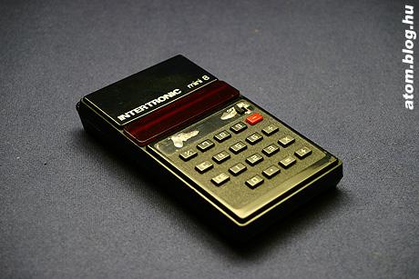 Régi számológép - ledes-alapműveletes kincs a 70-es évekből