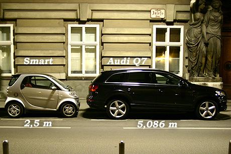 A kicsi, a nagy - avagy Smart és Audi