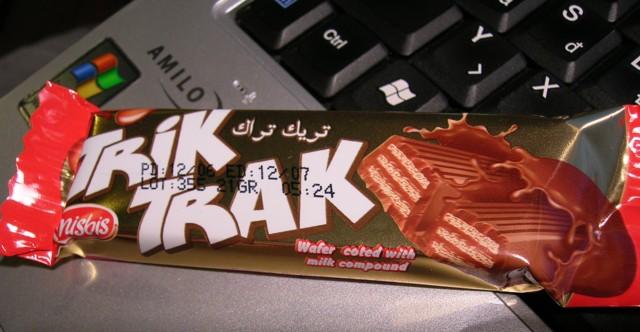 Trik Trak - Ez nem valami új űrhajós sorozat, hanem csoki :)