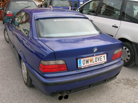 A szerelmes BMW-s