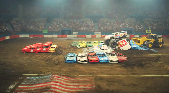 Monster Truck tilt-shift