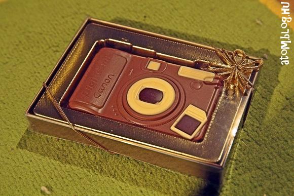 Csokifényképezőgép és a főiskolás Heidi