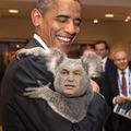 Orbankala és Obama találkozása
