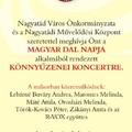 Magyar Dal Napja, Nagyatád