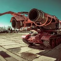 A világ legdurvább gépszörnye Magyarországon van