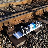 Áramot termel a vasúti sín
