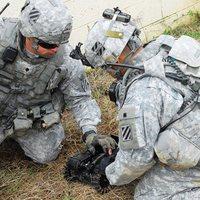 Kutatórobotokat tesztel az amerikai hadsereg