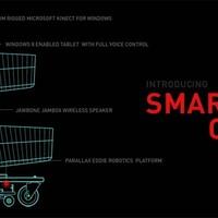 Követ a boltban a jövő bevásárlókocsija
