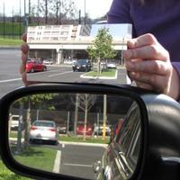 Itt a holttér nélküli tükör