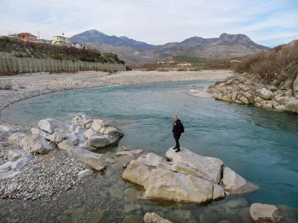 Kir folyó, Mes, Albania<br />fotó: Harrach Orsolya