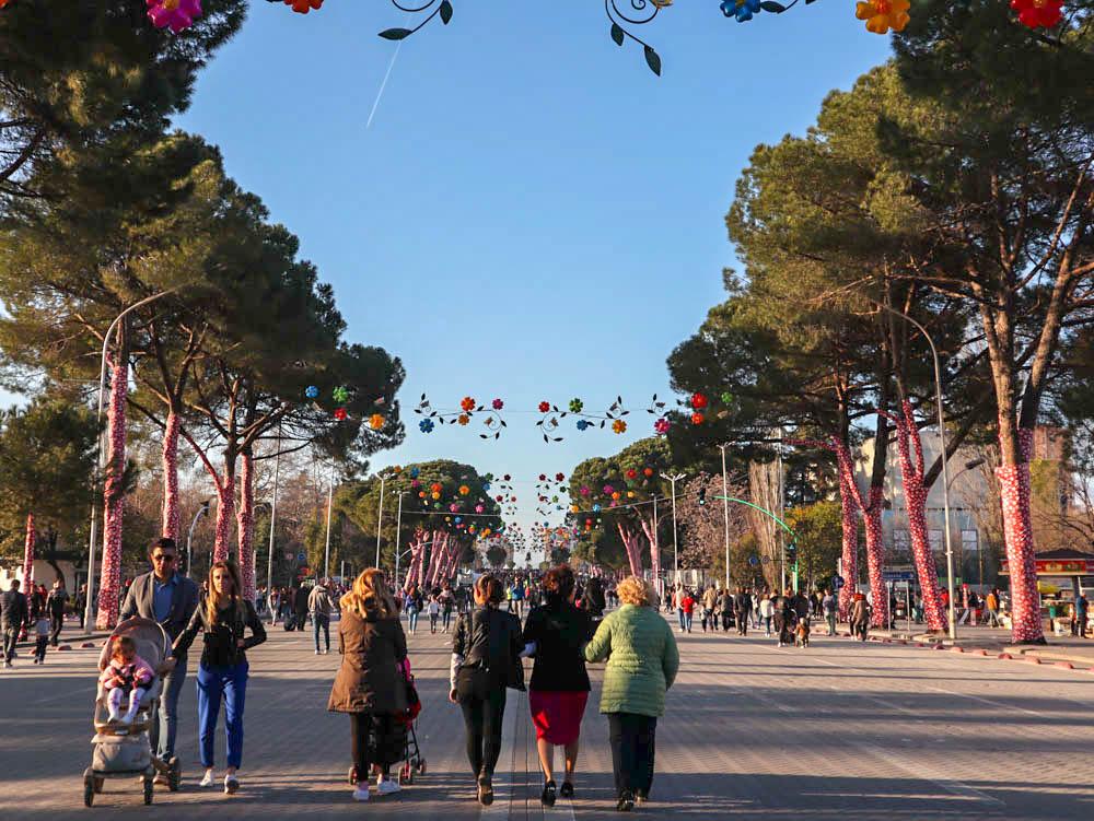 Dita e Veres festival, Tirana