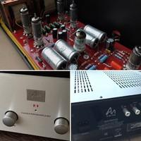 A Push Pull az új SE – 6005-ös csövek az Audio Note Uk. Szint1-2-ben