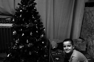 Feketén-fehéren..Karácsony 2015..